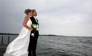Bröllop och fest vid Vänerns strand